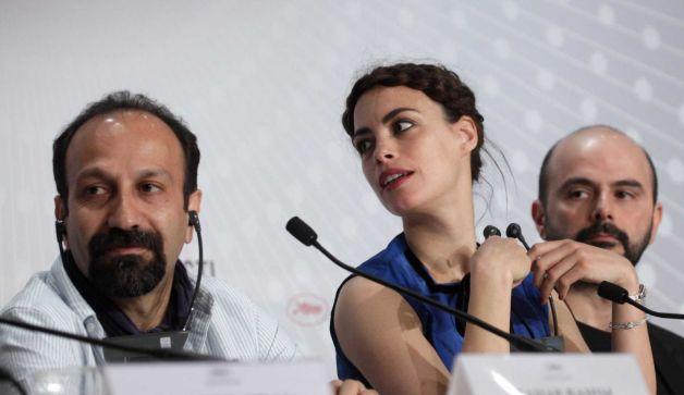 اصغر فرهادی نشست مطبوعاتی فیلم گذشته