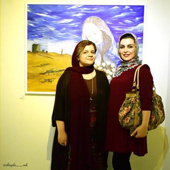 ماهچهره خلیلی و شقایق احمدیان
